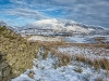 Advanced Projected Images - First - Snow At Tewit Tarn by Jeff Saunders