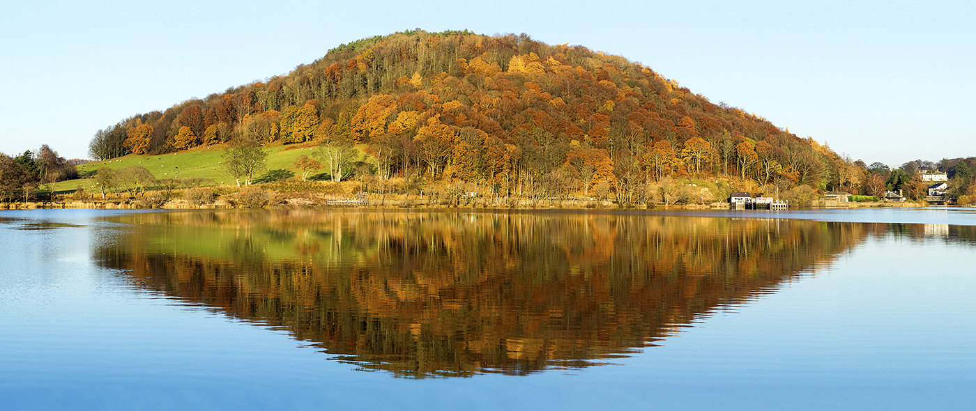 Newcomers Projected Images - HC - Reflections At Pooley Bridge by Trevor Wright