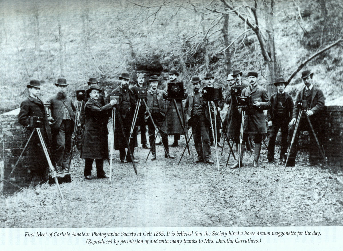 CCC Carlisle Camera Club - As we were in 1885!
