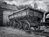 Jackson Trophy - HC - Old Coal Wagons by Tim Booth
