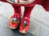 Advanced Projected Images - HC - Red Clogs by Vera Graham