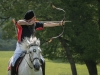 Advanced Projected Images - Second - Horseback Archer by Alan Sawyer