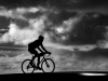 Advanced Monochrome Prints - First - Solo Biker by Norman Butler