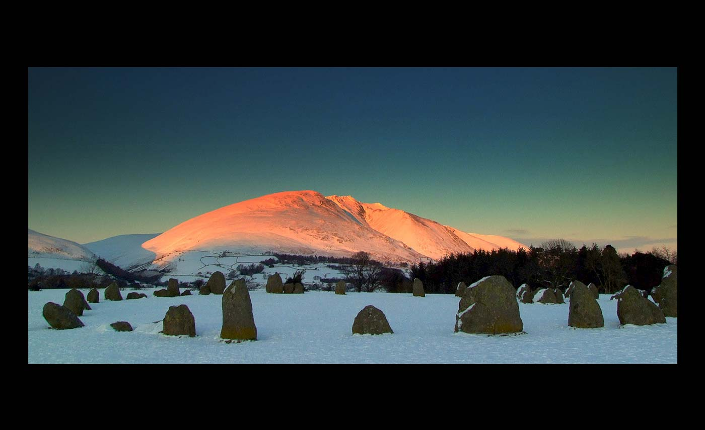 Club Projected Images - Second - Evening Light Blencathra by Sean Butterworth