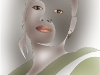 Advanced Projected Images - Third - Bangladeshi Girl 2 by Pax Garabedian