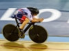 Advanced Projected Images - Second - Laura Trott Following The Black Line by Brian Hinvest