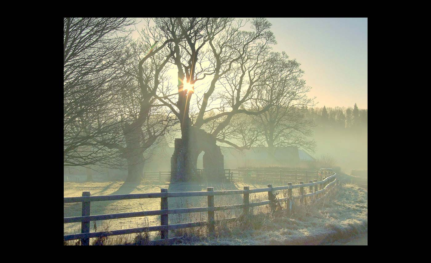Club Colour Prints - HC - Frost At Lanercost by Sean Butterworth