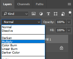 Photoshop-Layers-Blending Mode-Multiply