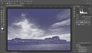 Photoshop-New Fill Layer-Washed Out
